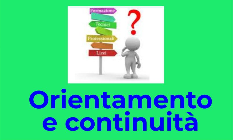 orientamento e continuità